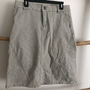 Anthropologie- pilcro and the letterpress skirt